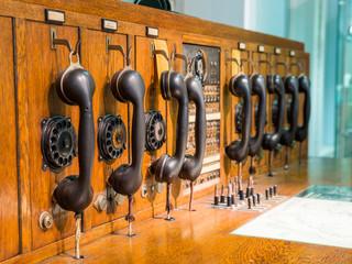 Historische Telekommunikationsablage