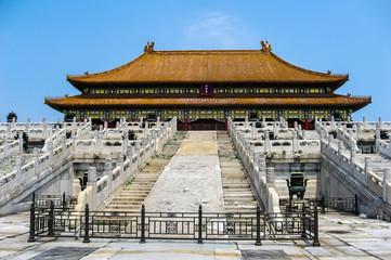 Views of Forbidden City, Beijing China