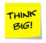 Think Big Sticky Note