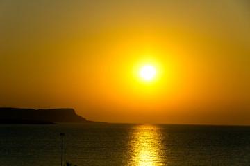 Sonnenuntergang auf Zypern, Cavo Greco, Ayia Napa