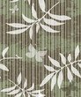 Seamless grungy pattern with leaves