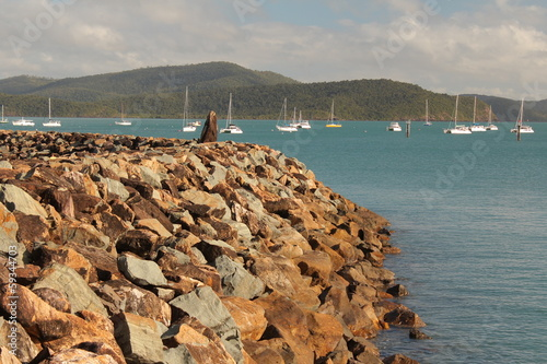 Harbour Rock Wall