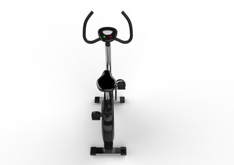 Stationary Bicycle Back View