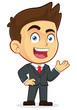 Welcoming Businessman - 59346510