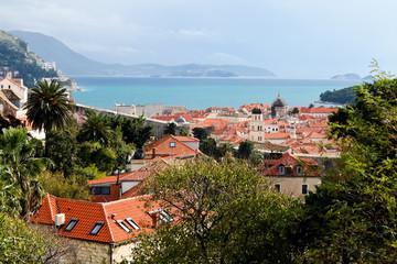 アドリア海、世界遺産クロアチア、ドブロヴニク旧市街