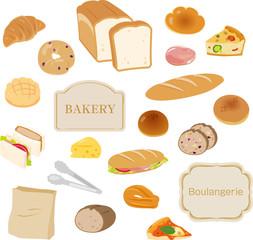 パンの素材