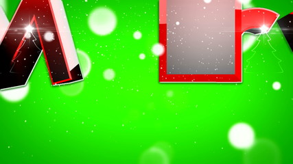 Merry Christmas type animation v3 ( By VideomaticHD )