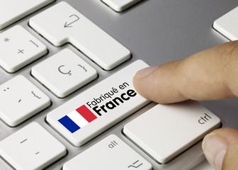 Fabriqué en France. Clavier
