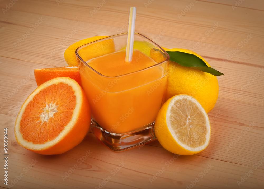 oranżada pomarańczowy sok - powiększenie