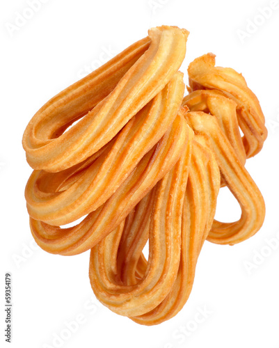 churros typical of Spain