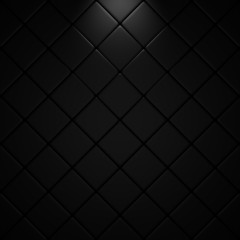 Black floor with light effet