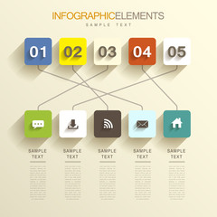 abstract infographics