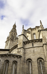 Old Cathedral in Spain