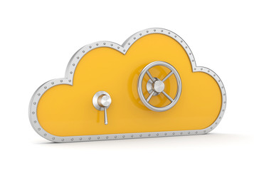 Cloud and safe lock