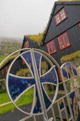 Far Oer grass roof houses