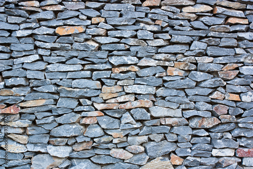 Pattern of decorative stone wall surface