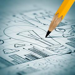 Business sketch