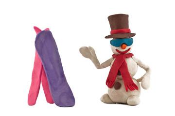 holidaymaker snowman