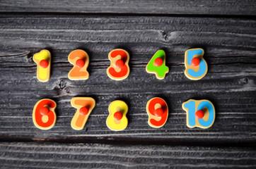Zahlen Kinderzahlen Kinderzimmer Kinder Zahl