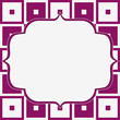 Pink and White Tapestry Square Fabric Background