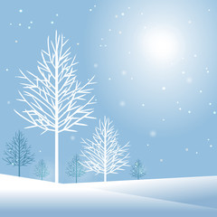 Stylish winter holiday design vector illustration