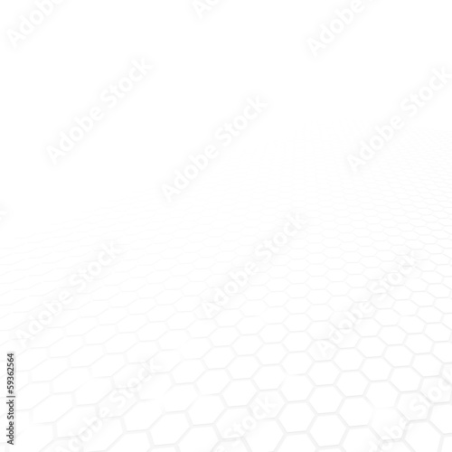 White mosaic geometric vector background