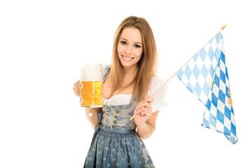 bayrisches Mädchen