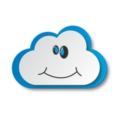 Happy cloud