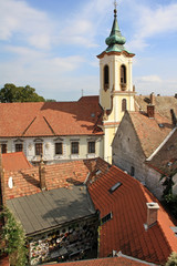 Church in Szentendre town