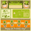 Patricks Day Retro Card