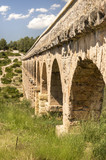 Ancient Roman Aqueduct in Spain, Europe