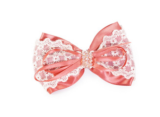 Hair pink clip for women