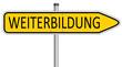 Weiterbildung Schild  #131213-svg07