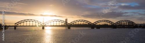 bridge at sunrise © Maslov Dmitry