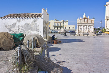 Gallipoli, chiesetta di Santa Cristina e fontana greca