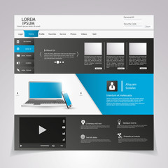 Modern Clean Website Template