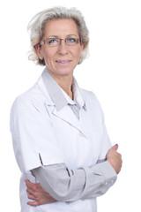 Ältere Ärztin des Vertrauens - senior doc