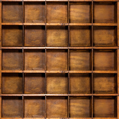 bacheca di legno antica