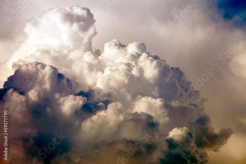 blue sky with clouds - 59377790