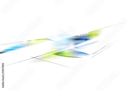 Bright abstract tech vector design