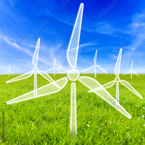 Virtual wind turbines