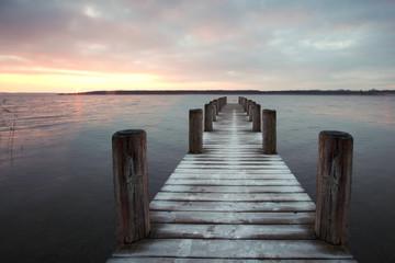 morgendliche Ruhe am See