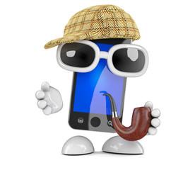 Sherlock smartphone is on the case