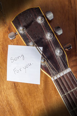 Guitar play song for you