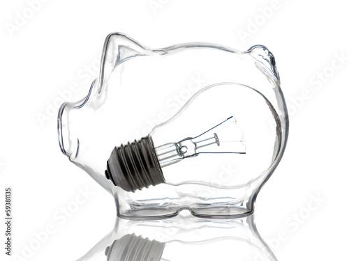 Leinwanddruck Bild Bank of idea