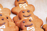 Christmas biscuits gingerbread