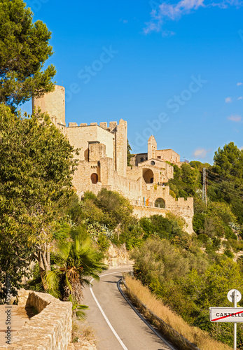 Castle of Castellet and the Hermitage of St. Peter