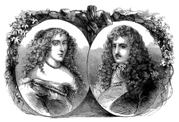 Aristocratic Pair - 17th century