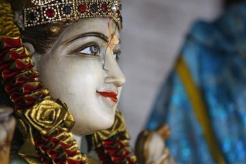 Hindu Statue Grand Bassin Mauritius