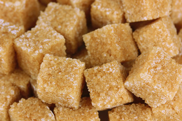 Brown sugar close-up